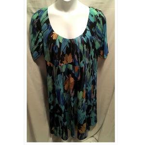 Size 18W Dressbarn Dress Slinky Stretchy